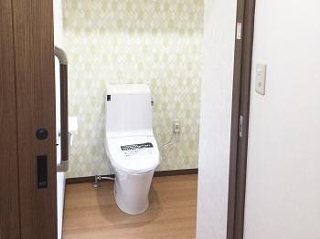 伊佐市でトイレ取替リフォーム