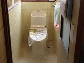 最近のトイレの機能性の高さに驚きました