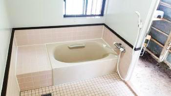 サーモタイルでヒヤッとしないお風呂になりました!